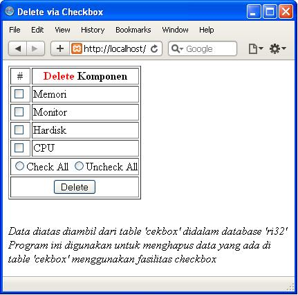 how to delete something from program files