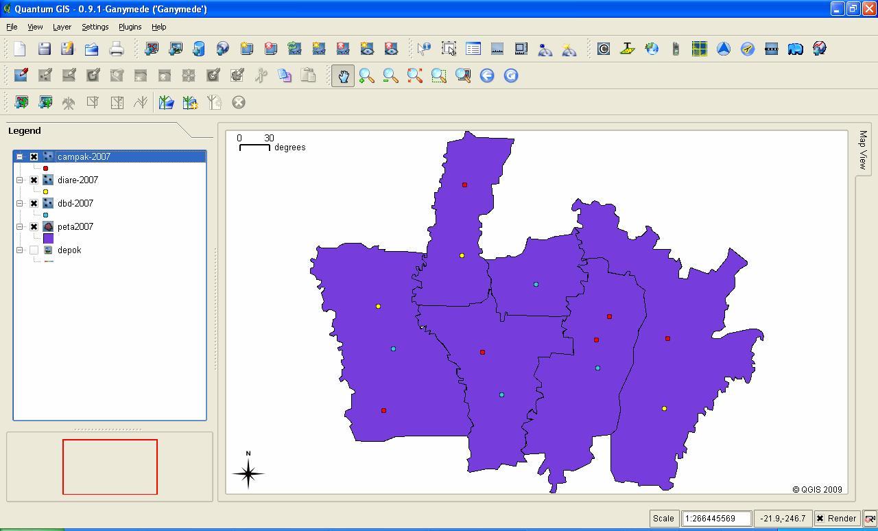 Membuat Peta Digital dengan Quantum GIS | RI32's WEBLOG