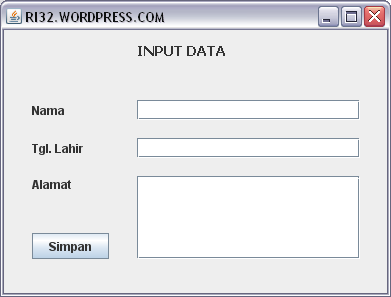 how to run with input on netbeans