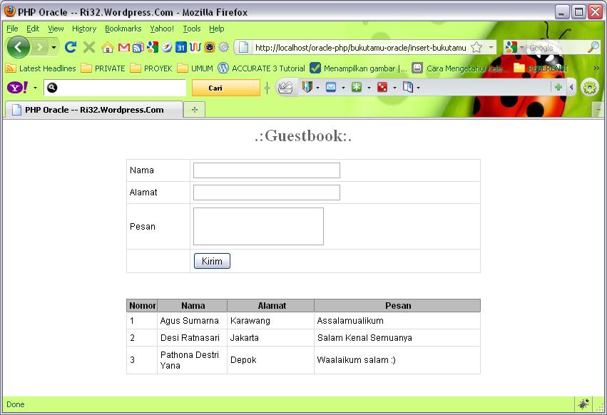 Pemrograman Website Membuat Website Dengan Database Mysql | animegue ...