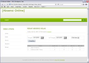 Membuat Web Absensi Online dengan PHP dan MySQL