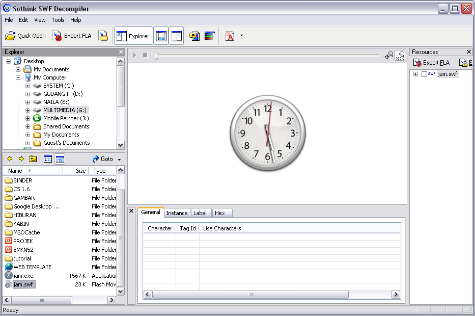 Download the full cracked version of Sothink SWF Decompiler, a very good so
