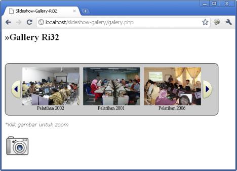 Membuat Slideshow Gallery gambar dengan PHP dan JQuery