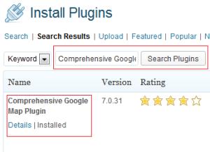 Comprehensive Google Map Plugin - Ri32