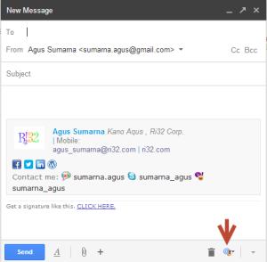 Email Signature Gmail