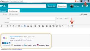 Email Signature Yahoo!