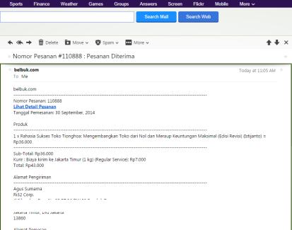 15. Email dari Belbuk