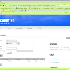 Aplikasi Akuntansi v1 dengan PHP