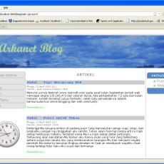 Aplikasi Blog dengan JSP