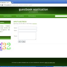Aplikasi Guestbook dengan CI