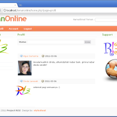 Aplikasi Social Media dengan PHP